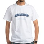 Auditing - Eye White T-Shirt
