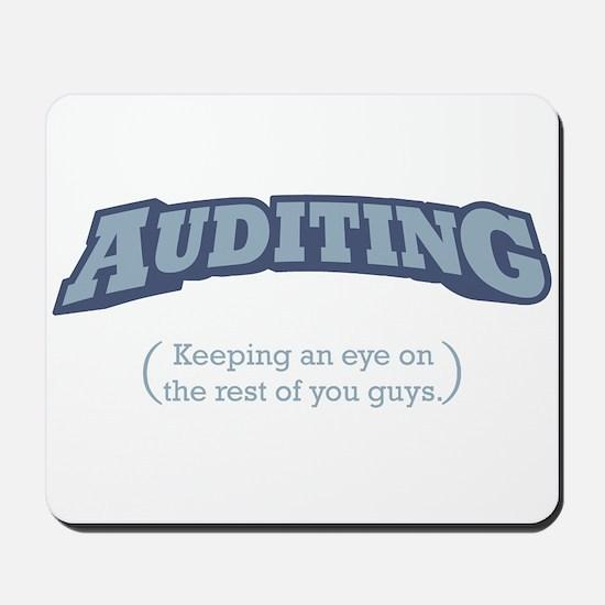 Auditing - Eye Mousepad