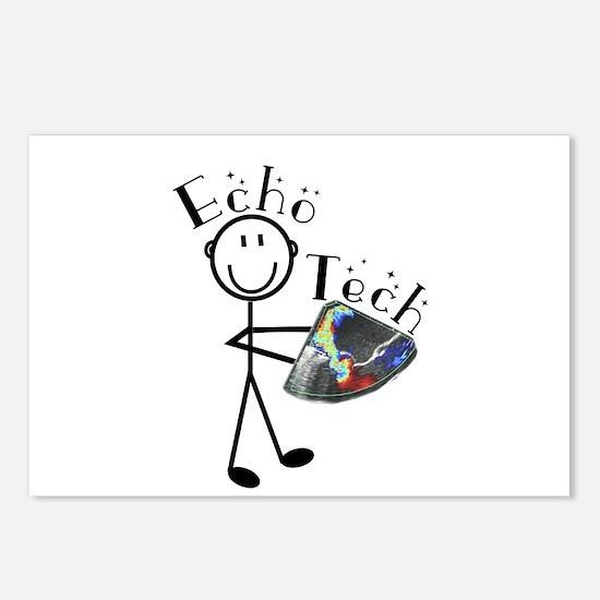 Cardiac Echo Tech Postcards (Package of 8)