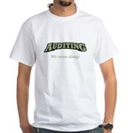 Auditing - Sleep White T-Shirt