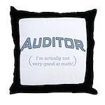 Auditor - Math Throw Pillow