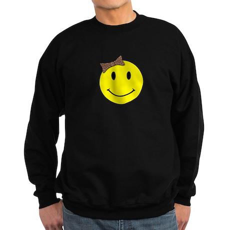 Smiley Face Sweatshirt (dark)