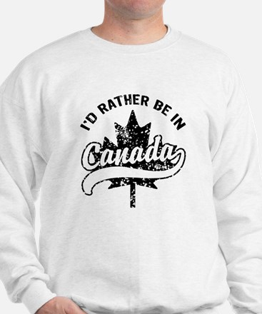 I'd Rather Be In Canada Sweater
