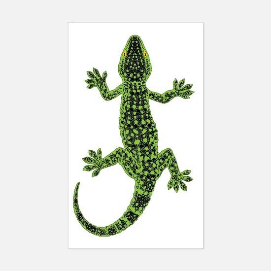 Gecko Sticker (Rectangle)