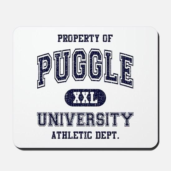 Puggle University Mousepad