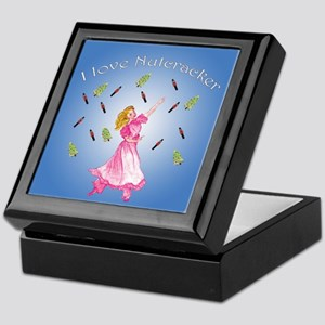 i love Nutcracker ballet Keepsake Box