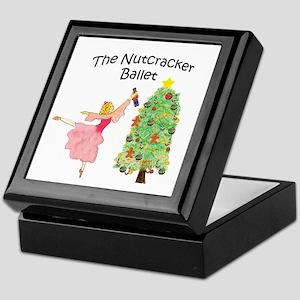 Nutcracker & Clara Keepsake Box