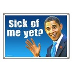 Sick Of Me Yet? Banner