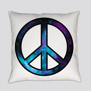 Galactic Peace Everyday Pillow