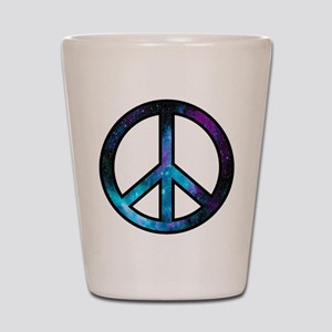 Galactic Peace Shot Glass