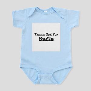 Thank God For Sadie Infant Creeper
