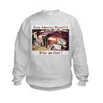Drive an Edsel Kids Sweatshirt