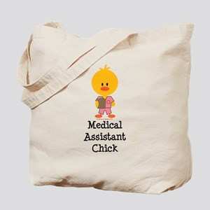 Medical Assistant Chick Tote Bag