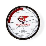 Willamette Valley Miata Club Wall Clock
