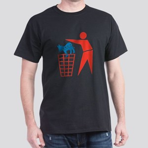 Taking out the Democrat Trash Dark T-Shirt