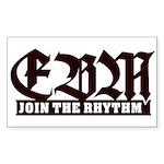 EBM 2 - Join the Rhythm - Sticker (Rectangle)