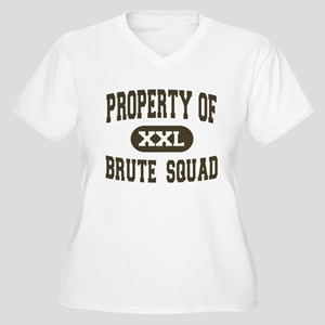 Property of Brute Squad Women's Plus Size V-Neck T