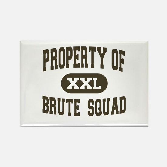 Property of Brute Squad Rectangle Magnet (10 pack)