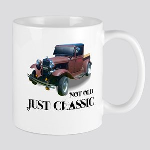 "not old ""just classic"" Mug"