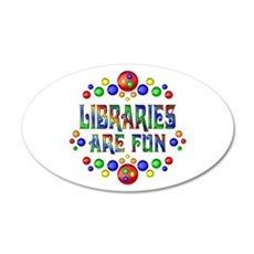 Libraries are Fun Wall Decal