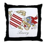 Barry Sept Throw Pillow