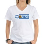 Israel 2 Women's V-Neck T-Shirt