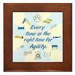 Agility Time v3 Framed Tile