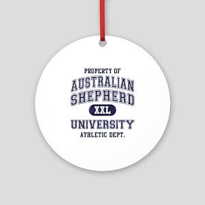 Australian Shepherd Ornament (Round)