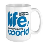 Whoever saves one life Mugs