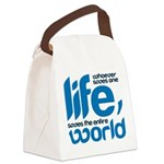 Whoever saves one life Canvas Lunch Bag