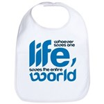 Whoever saves one life Baby Bib