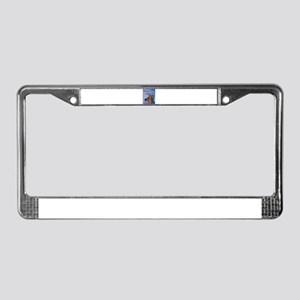2010 Weim & Cheese License Plate Frame