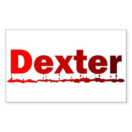Dexter Sticker (Rectangle)