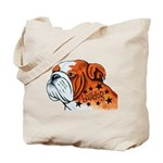 BullDog Art Tote Bag