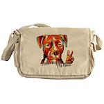 Love my Pit Bull Messenger Bag