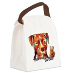 Love my Pit Bull Canvas Lunch Bag