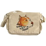 My Baby is a Rescue Messenger Bag