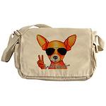 Smooth Chihuahua Messenger Bag