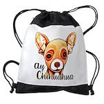 Ay Chihuahua Drawstring Bag