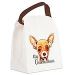 Ay Chihuahua Canvas Lunch Bag