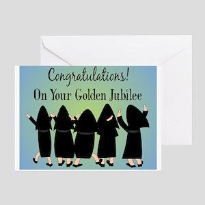 Nuns Jubilee Greeting Card