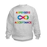 Aspergers Acceptance Kids Sweatshirt