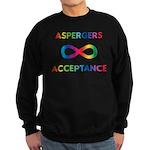 Aspergers Acceptance Sweatshirt (dark)