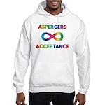 Aspergers Acceptance Hooded Sweatshirt