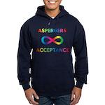 Aspergers Acceptance Hoodie (dark)