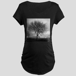 Tree - Maternity Dark T-Shirt