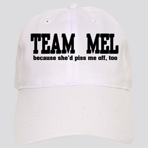 Team Mel Pissed Off Cap