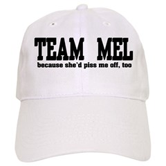 Team Mel Pissed Off Baseball Cap
