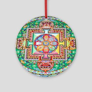 Sand Mandala Ornament (Round)