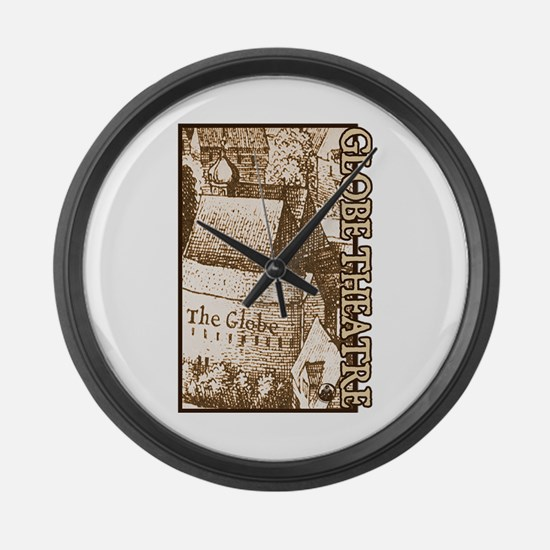 The Globe Theatre Large Wall Clock